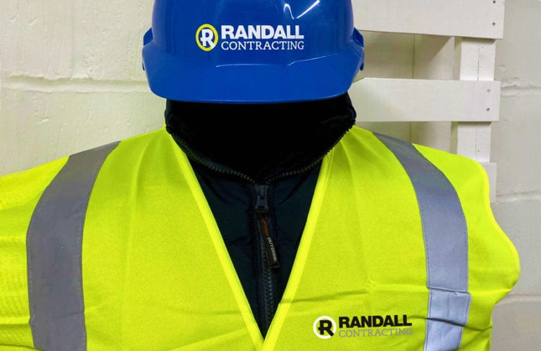Business branded safety wear